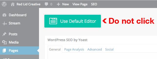use-default-editor-divi
